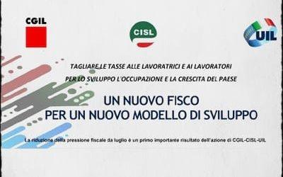 Fisco: le proposte di Cgil, Cisl, Uil, per la riforma fiscale