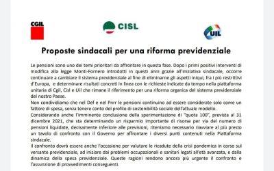 Proposte sindacali per una riforma previdenziale