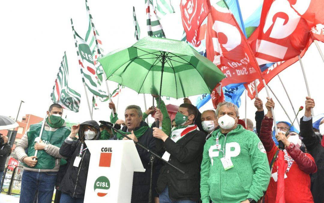 """Primo maggio 2021. 'L'Italia Si Cura con il lavoro'. Sbarra: """"Cgil Cisl Uil in campo per la ripartenza in sicurezza e la ricostruzione del Paese"""""""