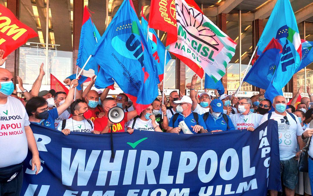 """Whirlpool. Sbarra: """"Lavoratori e famiglie meritano più rispetto"""""""