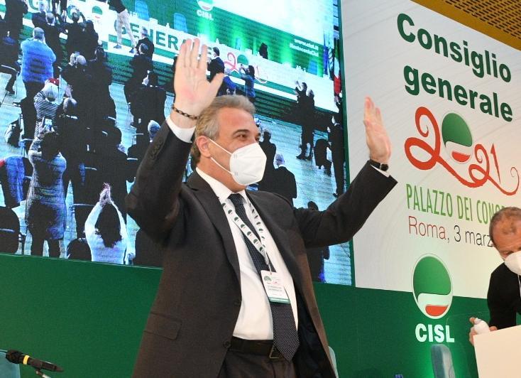 Cisl. Eletto oggi il  nuovo Segretario Generale, Luigi Sbarra