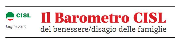 Barometro Cisl: Bollettino n. 2
