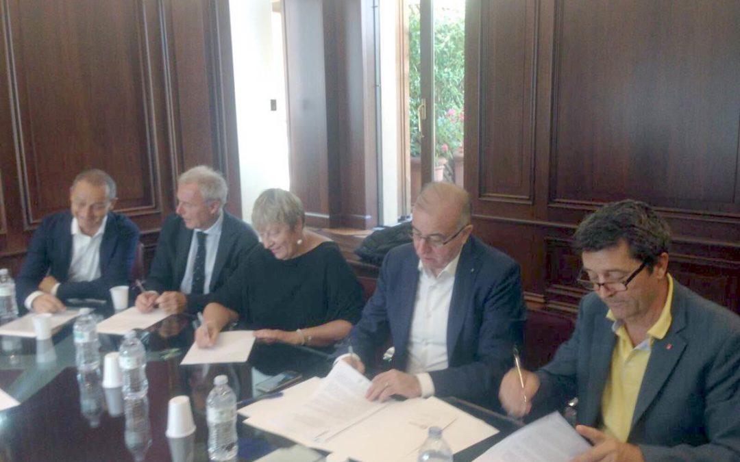 Accordi  tra Cgil, Cisl, Uil  e Confesercenti su un nuovo sistema di relazioni sindacali e modello contrattuale