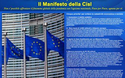 Manifesto della Cisl per la Nuova Europa unita e solidale.