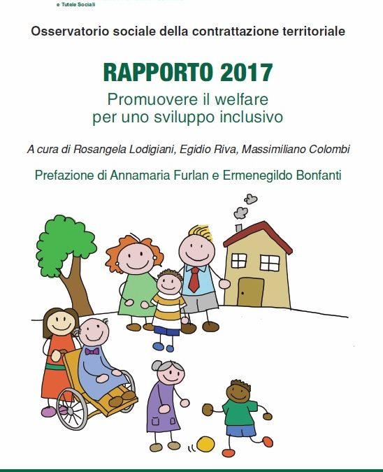 Osservatorio sociale: il Rapporto 2017